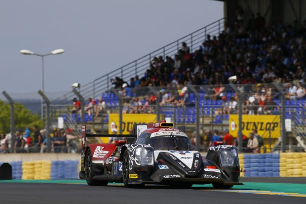 37 JAAFAR Jazeman (mys), WEIRON Tan (mys), JEFFRI Nabil (mys), Oreca 07 Gibson team Jackie Chan DC racing, action during the 2018 Le Mans 24 hours test day, on June 3 at Le Mans circuit, France - Photo DPPI