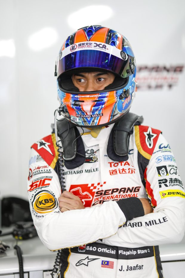 JAAFAR Jazeman (myl), Oreca 07 Gibson team Jackie Chan DC racing, portrait  during the 2018 FIA WEC World Endurance Championship, 6 Hours of Fuji from October 12 to 14  at Oyama, Japan - Photo Frederic Le Floc'h / DPPI